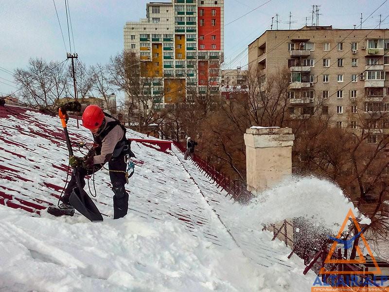 Компании по уборке снега с крыш
